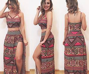 moda, cropped, and look image