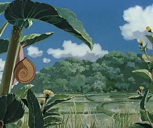anime, My Neighbor Totoro, and my neighbour totoro image