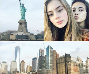 model, new york, and nyc image