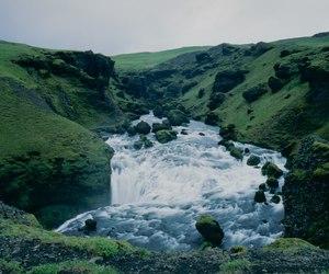 nature, landscape, and river image