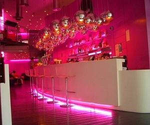 pink, bar, and club image