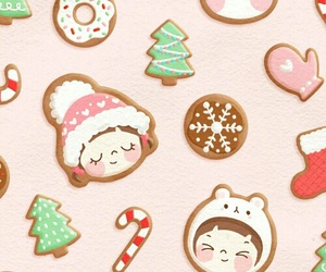 pattern, christmas, and winter image