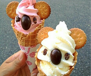 ice cream, food, and Koala image