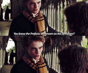 cedric diggory, goblet of fire, and harry potter image
