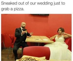 pizza and couple image