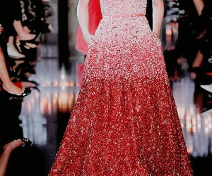 haute couture and red image