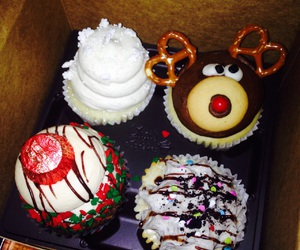 christmas, cupcakes, and fun image