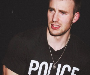 chris evans, sexy, and police image
