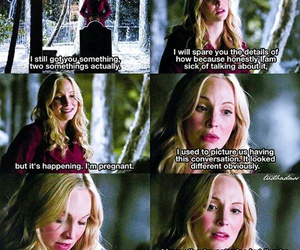 candice accola, caroline forbes, and candice king image
