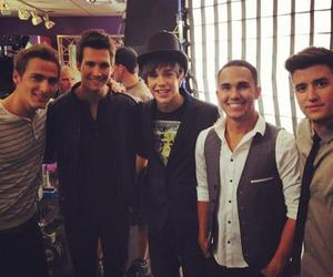 big time rush, austin mahone, and kendall schmidt image