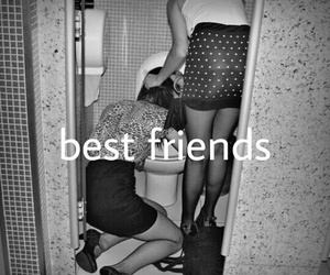 best friends, drunk, and party image