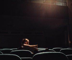 girl, cinema, and photography image