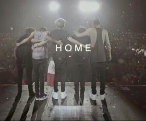 one direction, home, and liam payne image