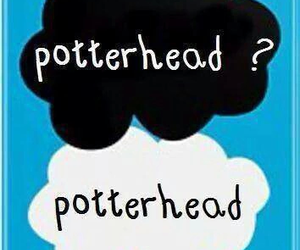harry potter, potterhead, and book image
