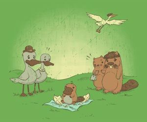 beaver, duck, and Platypus image