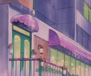 moon, sailor moon scenery, and sailor moon sceneries image