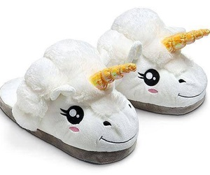 unicorn and slippers image