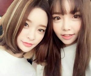 korean girls, asian models, and korean models image