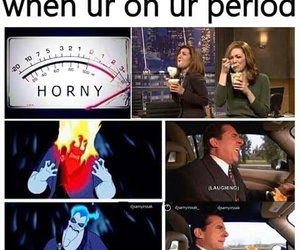 period, funny, and true image
