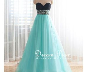 party dress, prom dress, and pretty dress image