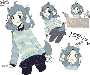 undertale and temmie image