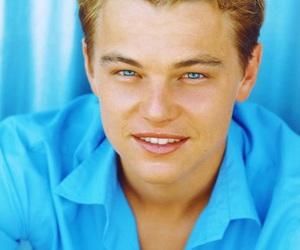 leonardo dicaprio, blue, and eyes image
