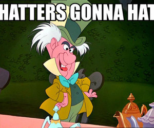 alice in wonderland and mad hatter image
