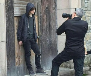 chandler riggs, the walking dead, and boy image