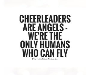 angels, athletes, and Cheerleaders image