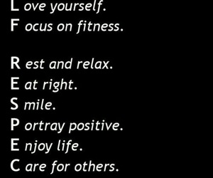 quote, fitness, and motivation image