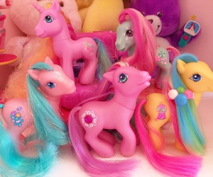 colorful, my little pony, and pony image