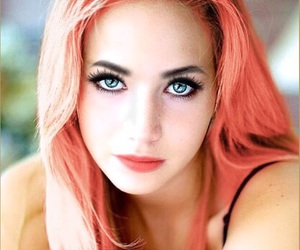 ariel, blue eyes, and makeup image