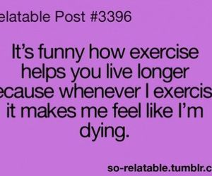 exercise and funny image