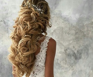 awesome, blonde, and comb image