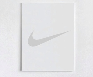 nike, white, and all white image