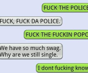 swag, funny, and police image