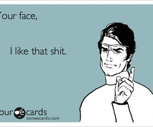 face, funny, and life image
