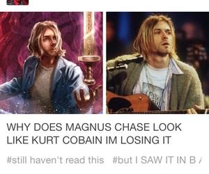 awesome, kurt cobain, and rick riordan image