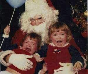 children, funny, and christmas image