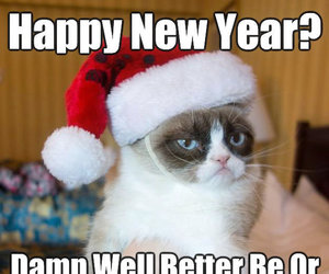 happy new year and meme image