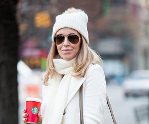 christmas, coffee, and fashion image