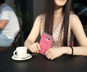 fashion, phonecase, and pink image