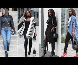 fashion, video, and brownskin image