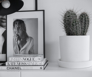 book, cactus, and chanel image
