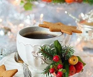 christmas and coffee image