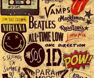 nirvana, 5sos, and the vamps image