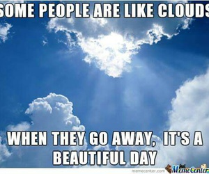 clouds, funny, and people image