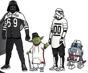 dope, goal, and star wars image