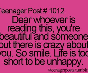 teenager post, life, and quote image