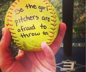 softball, ball, and game image